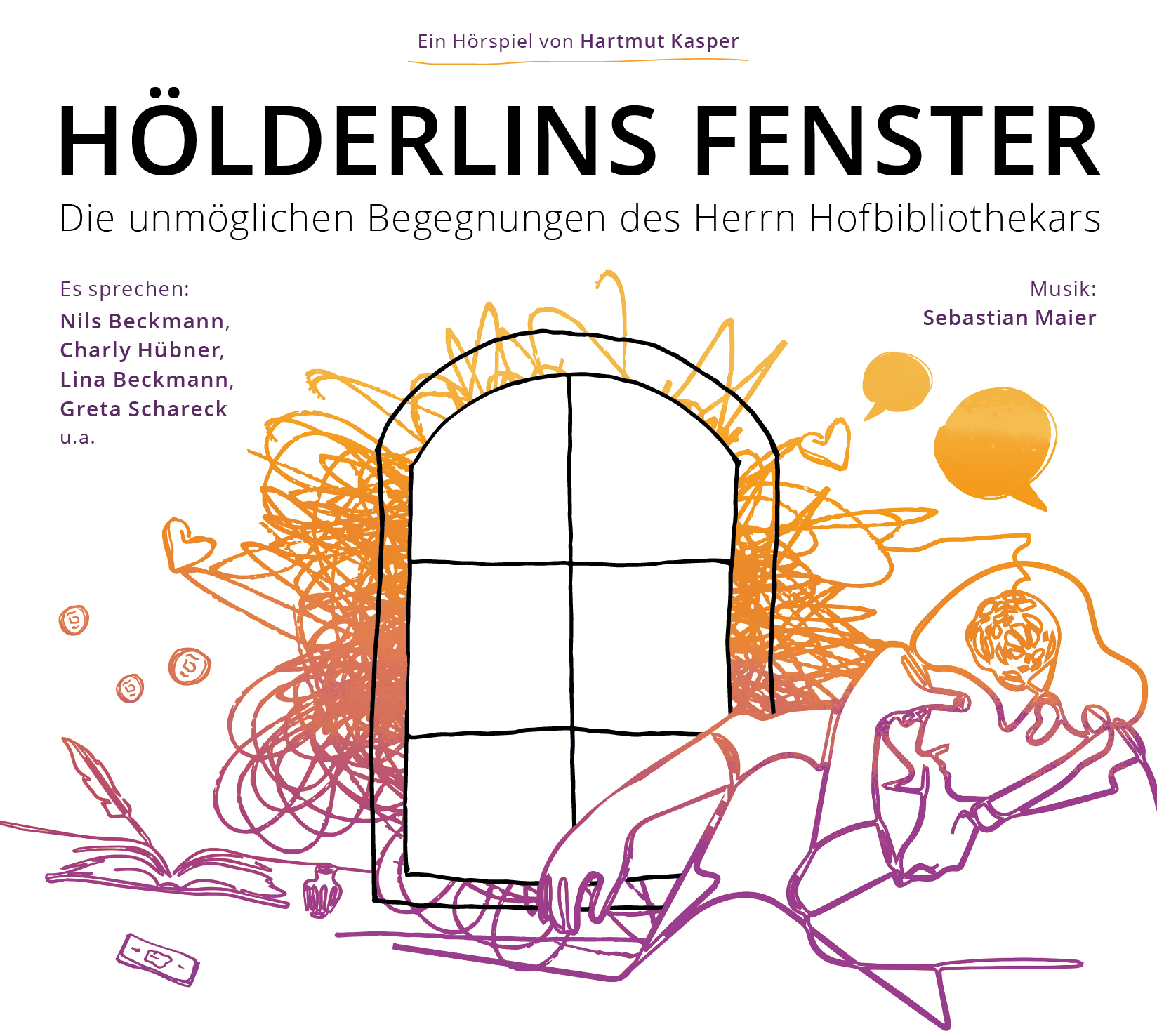 Hölderlins Fenster Cover